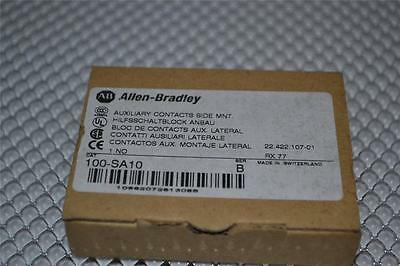 ONE NEW Allen Bradley 100-SA10 Auxiliary Contact