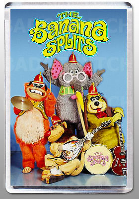 THE BANANA SPLITS LARGE fridge magnet - CLASSIC!  Style'A'