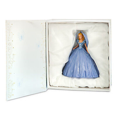 disney live action film collection cinderella figural ornament new with box
