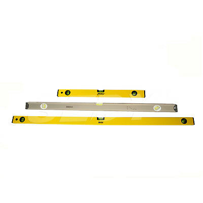 "3 PC 24"" 40"" 48"" Aluminium Body 3 in 1 Spirit Level Angle Measure"