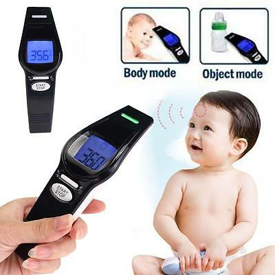 NEW Non-contact Body Skin Infrared IR Digital Thermometer For Baby Kids Adult BG
