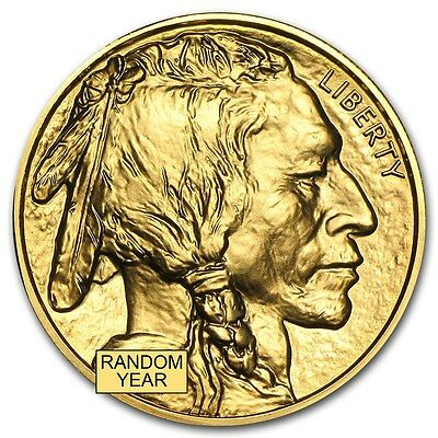 1 oz Gold American Buffalo - Random Year - SKU #87710