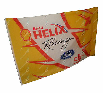 Flag Ford Shell Helix Racing 90cm x 153cm Brand New Collectable Item