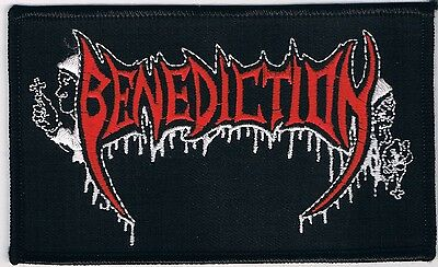 BENEDICTION patch napalm death repulsion sinister doom