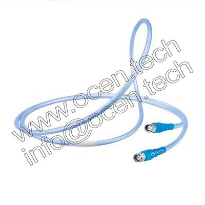 Sucoflex_104 HUBER+SUHNER Low Loss Flexible Microwave Cable SF104 SMA male plug