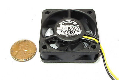 Elina 40mm x 20mm 5V DC Fan High Airflow 2 pin HDF4020L-05HHB Made In Japan