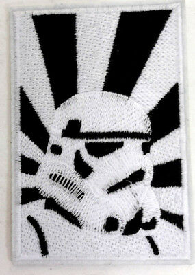 """Star Wars Stormtrooper Logo 4"""" Embroidered Patch- USA Mailed (SWPA-CD-97)"""