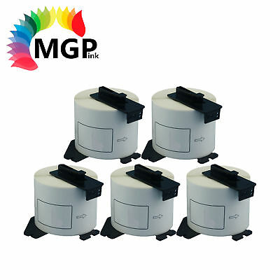 5x Compatible Brother DK-11202 Shipping/Name Badge Label – 62mm x 100mm