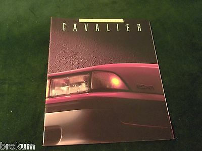 """Mint 1988 Chevrolet Chevy Cavalier Sales Brochure 32 Pages 11"""" X 9"""" New (Box 732"""