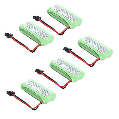 5 pcs 2.4V Phone Battery for Uniden BT-1021 BT-1025  BT-1008 DCX-210 800mAh New