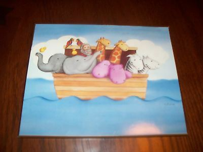 NOAH'S ARK WALL MOUNT PICTURE