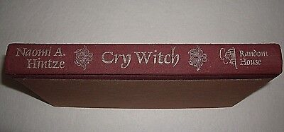 Cry Witch by Naomi A. Hintze 1st edition 2nd printing 1975