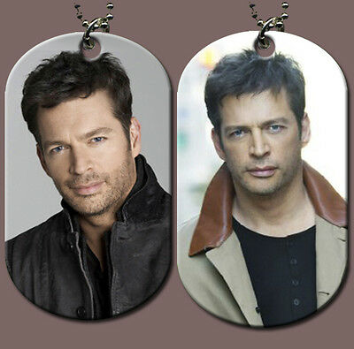 Harry Connick Jr. Dog Tag w/ Beeded Chain  (HOT)