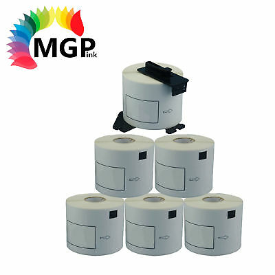5+1 Rolls Compatible DK-22205 BROTHER White Continuous Labels – 62mm X 30.48m
