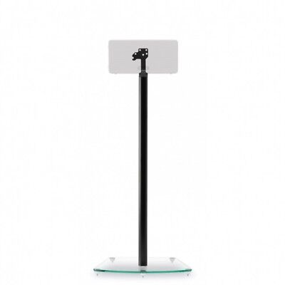 Alphason AS3003B Play 3 Glass Floor Stand / Mount for Sonos PLAY:3 Single Black