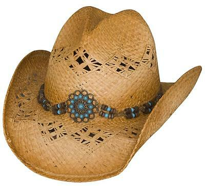 66ba0f2838f NEW Bullhide Hats 2751 Run A Muck Collection Tequila Sunrise Natural Cowboy  Hat