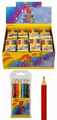 Mini Colouring Pencils Party Bag fillers Girl Boy Birthday Xmas Stocking Favours