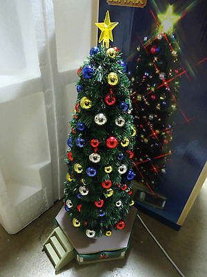 Lemax Village Collection The Majestic Christmas Tree Sold As-Is 1030