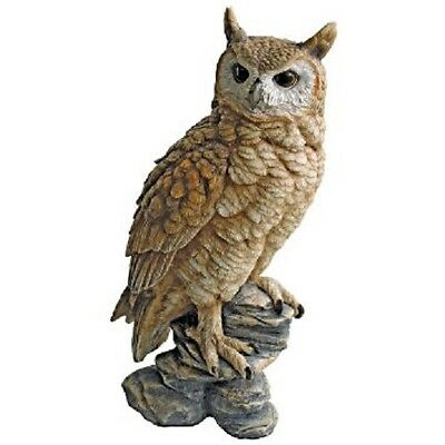 New Design Toscano Perching Forest Owl Garden Statue Figure Garden Ornament