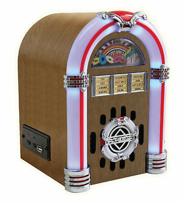steepletone SUB-L.E.D MINI jukebox amplifier mp3/ipod/iphone/android 'LIGHT'