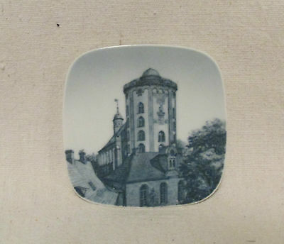 Bing and Grondahl Rundetaarn The Round Tower Signed Butter Plate/Pat