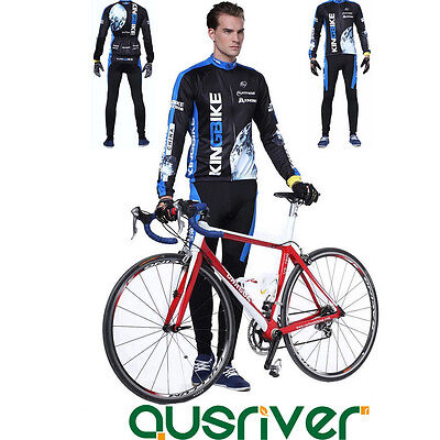 New Bike Bicycle Cycling Anti UV Clothes Jersey Pants Long Sleeve 3D Padded Suit