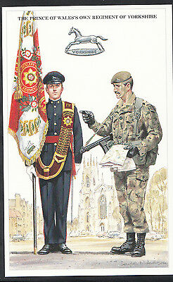Military Postcard - The Prince of Wale's Own Regiment of Yorkshire  DR640