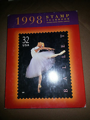 1998 Commemorative Stamp Yearbook Album  w All Stamps