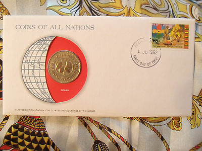 Coins of All Nations Ghana 1979 50 Pesewas UNC