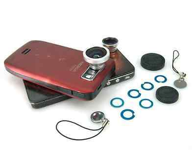 Universal Wide 180°Detachable Magnetic Fish Eye Len for Smart Phone Camera Table