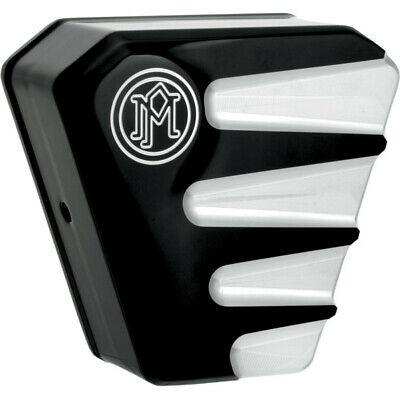 Performance Machine Platinum Cut Scallop Horn Covers Harley Big Twin Sportster 9