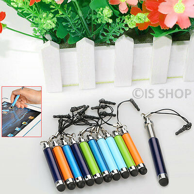 Universal Touch Screen Retractable Stylus Pen For iPhone 6s Samsung Galaxy S5 LG