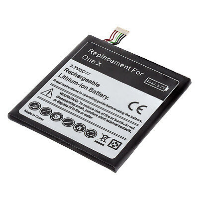 MTEC Akku Batterie für HTC One X / XL / HTC S720e - BJ83100 35H00187-00M Battery