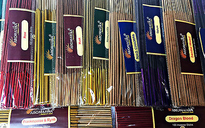 Coloured Incense Joss Sticks 100's- BUY 2 GET 1 FREE (ADD 3 TO QUALIFY)