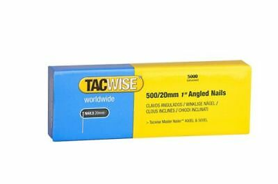 TACWISE 0823 500 x 20mm 18 Gauge Angled Nails 5000