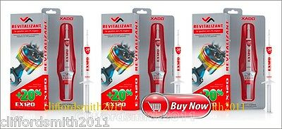 XADO EX 120 Gel Revitalizant for gasoline and LPG engines SET 3 pqs