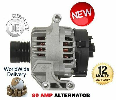 For Fiat 500 Quba Strada 1.3D Multijet 2006--> New 90 Amp Alternator Unit