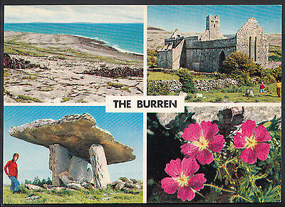 Ireland Postcard - Views of The Burren, Co Clare   LC4182