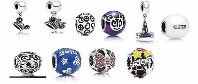 Pandora Disney Exclusive Charms Ear Hat, Sorcerer Hat, Mickey Parts And More