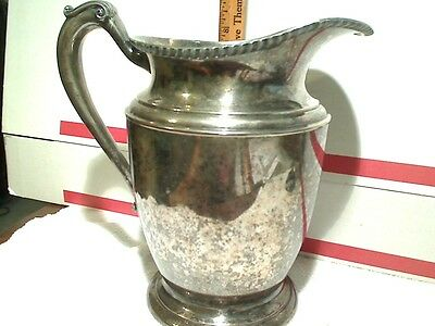 Silver pitcher From Cresent Silver Co.