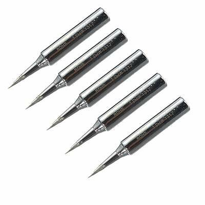 5x Lead Free Replacement Soldering Tools Solder Iron Tips Head 900m-T-I 936 937