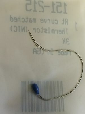 EC95F302W  3K  NTC BEAD THERMISTOR RT CURVE MATCHED RS 151-215 (x1)       fd6h17