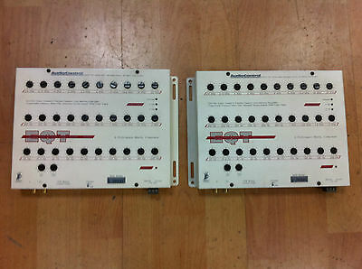 Audio Control EQT (PAIR) 30 Band 1/3 Octave Constant-Q Precision Equalisers