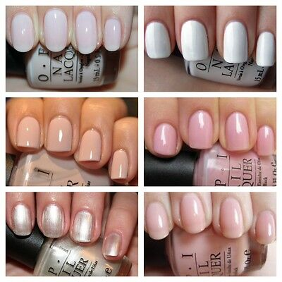 OPI Mini Bridal/ French Manicure Nail Varnish Collection