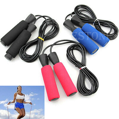 Adjustable Bearing Speed Fitness Boxing Skipping Jump Rope Aerobic Exercise