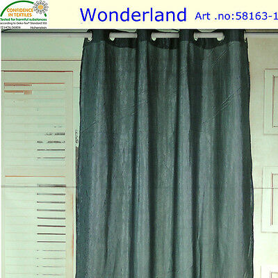 curtain 2pcs. elegant crushed stain  curtains