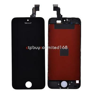 Full LCD Display+ Touch Screen Digitizer Assembly Repair For iPhone 5C Black