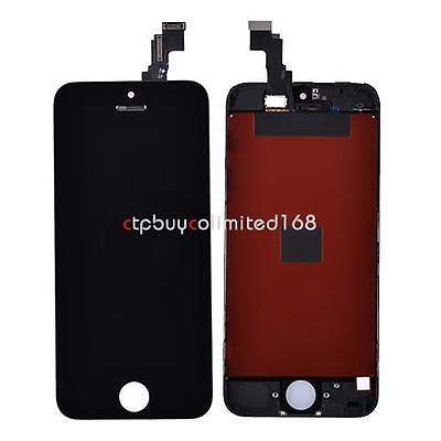 LCD Display + Touch Screen Digitizer Assembly Bezel Frame For iPhone 5C Black