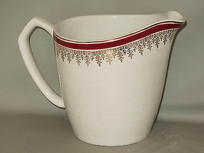 MYOTT STAFFORDSHIRE - Royalty Maroon - MILK PITCHER - B14D