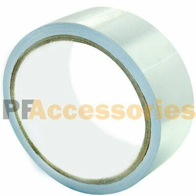 "26 FT x 1.88"" Aluminum Foil Heat Shield Tape Reflector Sealing Adhesive NEW"